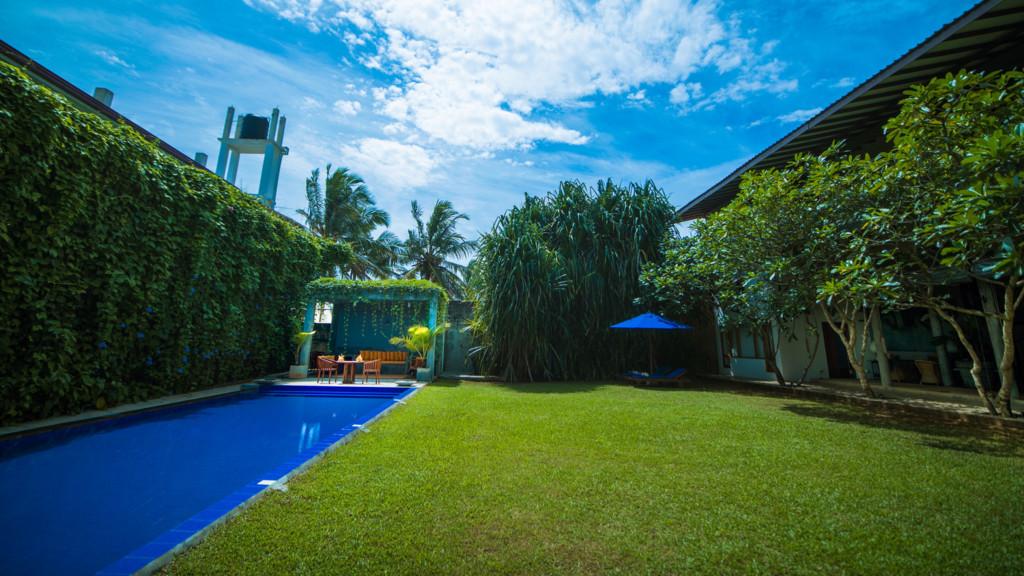 Saffron and Blue Villa